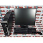 """Kit Calculator Viglen Genie SFF, Core2Duo E7200 2.53GHz, 4GB DDR2, 160GB, DVD-RW + Monitor 24"""" Grad B Mouse si Tastatura"""
