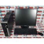 "Kit Calculator Viglen Genie SFF, Core2Duo E7200 2.53GHz, 4GB DDR2, 160GB, DVD-RW + Monitor 19"" Grad A Mouse si Tastatura"