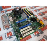 Kit Placa de baza Pegatron IPAEL-GS socket 775 4x PCI Express Suporta 16 GB RAM DDR2 + Procesor Q6600 + Cooler