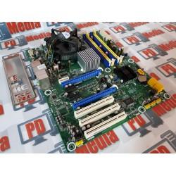 Kit Placa de baza Pegatron IPAEL-GS socket 775 4x PCI Express Suporta 16 GB RAM DDR2 + Procesor Q6600 + Cooler