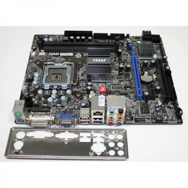 Kit Placa de baza Socket 775 MSI G41M-S03 si Procesor Q6600  + 8GB RAM + Cooler
