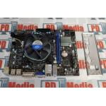 Kit Placa de baza 1155 MICRO-ATX MSI H61M-P31/W8 + Procesor i5-3340 6M 3.10 GHz 4 Cores Cooler Inclus