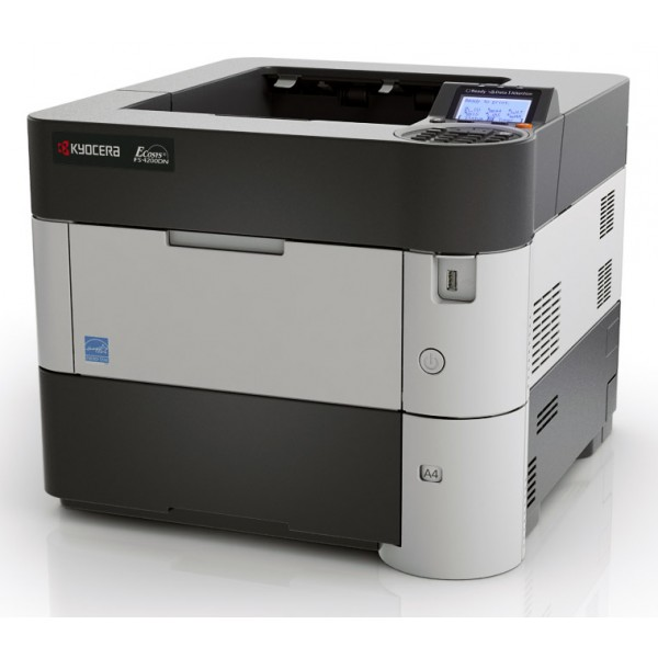 Imprimante laser second hand Monocrom Kyocera FS-4200DN 50 ppm duplex retea