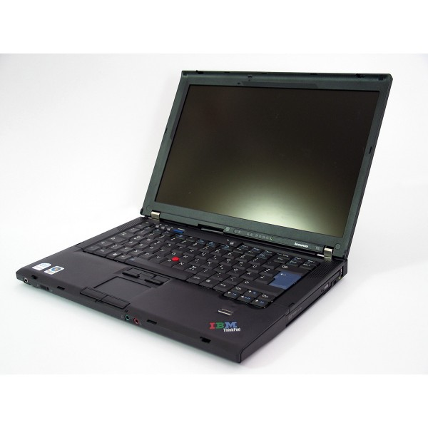 "Laptop Lenovo Thinkpad T61 T7100 (1.80GHz), RAM 4 GB, Hdd 160 GB, 14.1"""