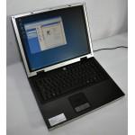 "Laptop Asus M6000 15"" 1.60 GHz Pentium M 1GB RAM 40 GB Dvd-Rw Wi-Fi"
