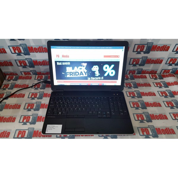 Laptop Dell E6540 Procesor i5-4200 2.5Ghz Ram 4GB SSD 128GB Web Cam