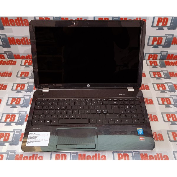 Laptop HP Pavilion 15 i7-4702 2.2GHz RAM 6GB SSD 120GB WebCam Radeon HD 8600M 2GB