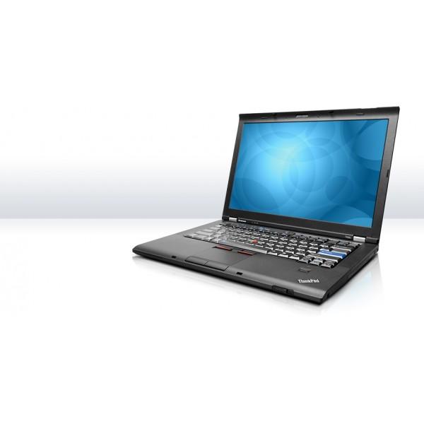 "Laptop Lenovo T400s Intel P9400 2.4 GHz RAM 4GB SSD 120GB DVD-RW 14.1"""