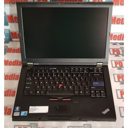 "Laptop Lenovo Procesor Intel i5-520M 2.40 GHz RAM 4GB HDD 160GB WebCam DVD Rom 14"" ThinkPad T410"
