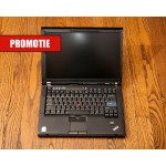 Laptop Lenovo Thinkpad T61 T7100(1.8GHz), RAM 2 GB, Hdd 160 GB, 15.4""