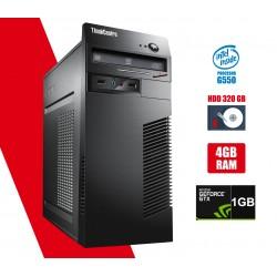 Calculator second hand Lenovo m72 Tower G550 4GB DDR3 HDD 320GB Video nVidia 605 1GB