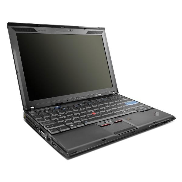 "Laptop Lenovo x201 i5 M 520 2.40 GHz RAM DDR3 4GB HDD 160 GB 12.1"""