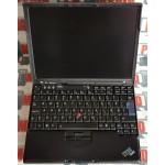 """Laptop Lenovo x60 T5500 1.66 GHz RAM 2 GB HDD 160 GB Display 14"""""""