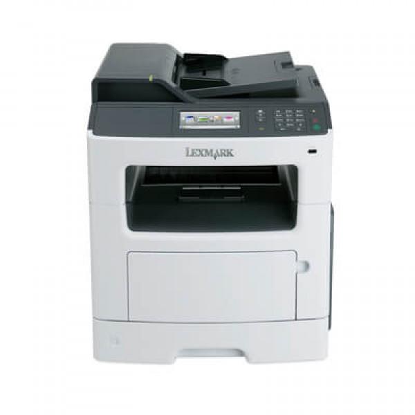 Imprimanta laser second hand Monocrom Lexmark MX410de A4 Duplex LAN Garantie