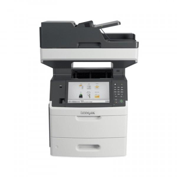 Imprimante laser second hand Lexmark MX711de 66ppm Duplex Retea Garantie
