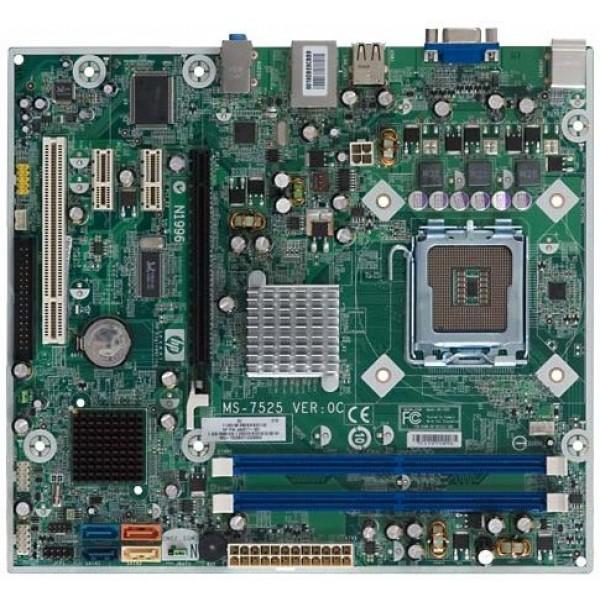 Placa de Baza SOCKET 775 MSI MS-7525 DDR2 + PROCESOR DUAL E6300 2.80 GHz + COOLER