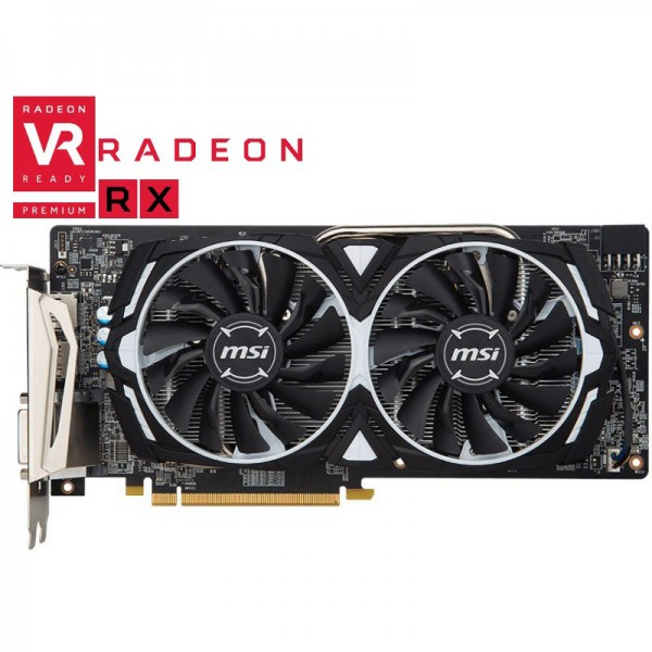 Placa video MSI Radeon RX 580 Armor OC 8GB GDDR5 256-bit