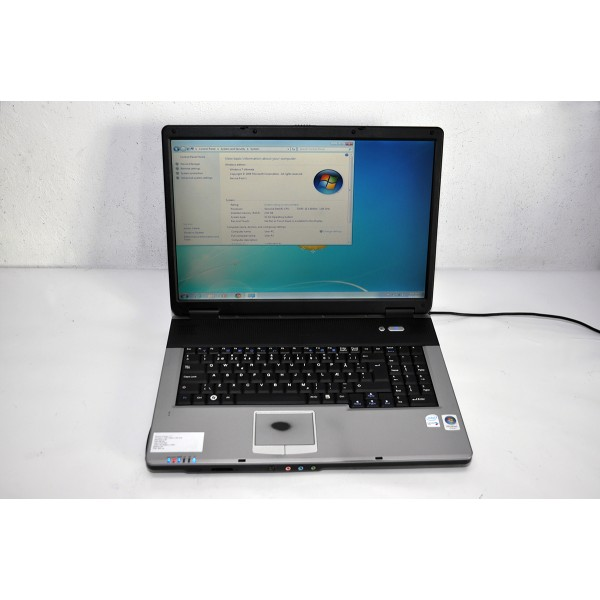 "Laptop Medion MIM2240 Procesor Intel T2050 Display 17"" Video ATI Radeon x1300 HDD 160 GB 2 GB RAM WiFi DVD-RW"