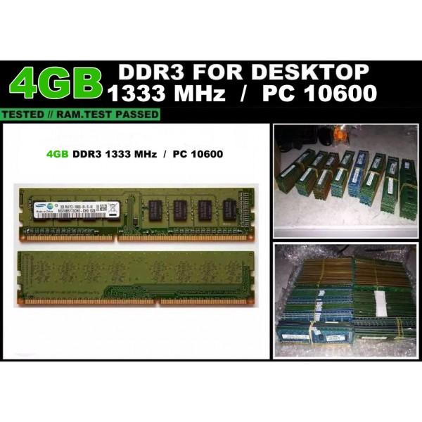 Memorie RAM DDR3 Calculator 4GB 1333MHz
