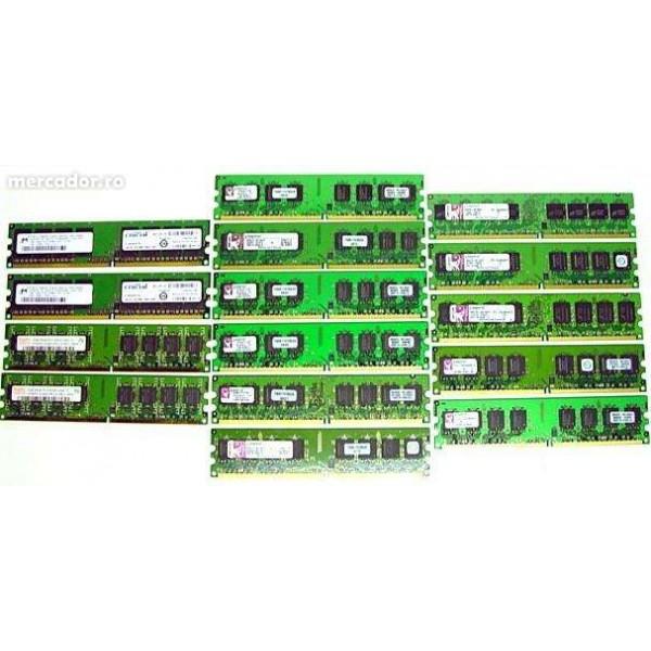 Memorii DDR2 1GB Frecvente 667 Diverse Firme