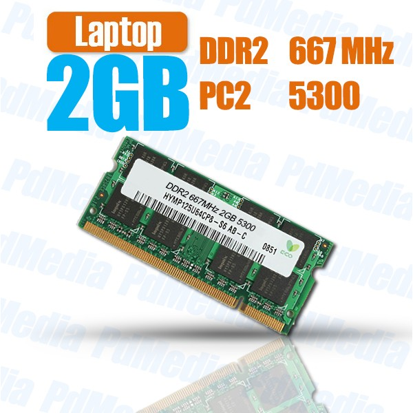 Memorie Laptop DDR2 2 GB 667 MHz PC 5300 Testate Garantie 6 Luni