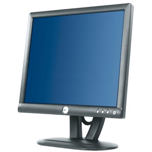 """Monitor Lcd 17"""" Dell E173FPF Negru 1280x1024 Cabluri Incluse"""
