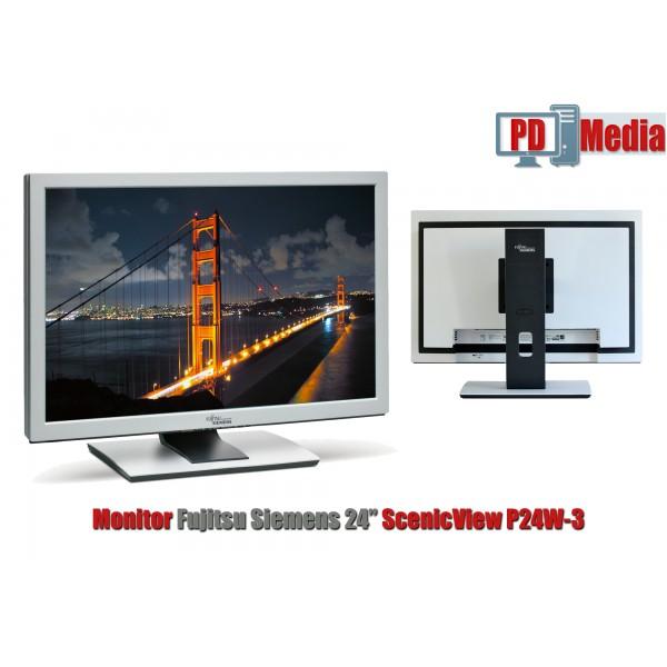"""Monitor LCD 24"""" Fujitsu Siemens, 16 ms, 1920 x 1200, VGA, DVI, HDMI Grad A"""