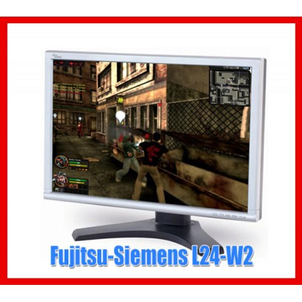 "Monitor Fujitsu-Siemens L24-W2 24"" inch Widescreen LCD Boxe integrate Garantie"
