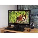 Monitor LCD LG 24'', Wide, DVI, Negru Lucios, Grad - A