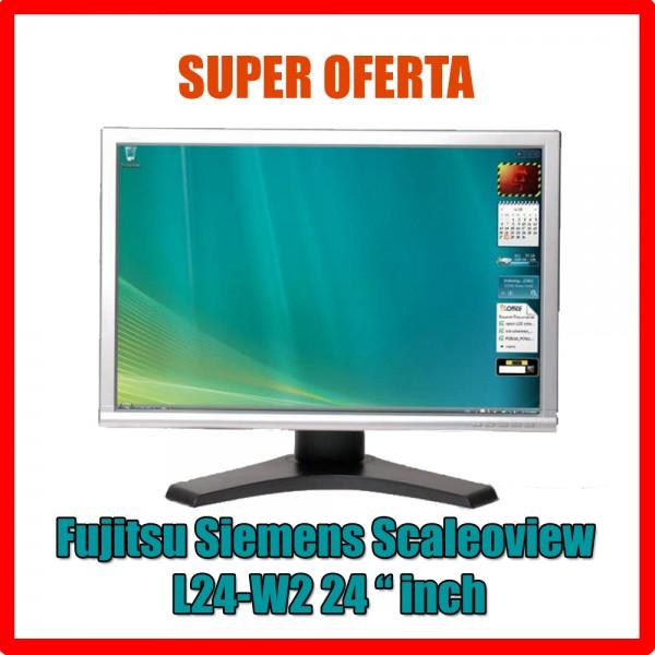 Monitor Fujitsu L24W-2 24 inch Widescreen TFT Grad B