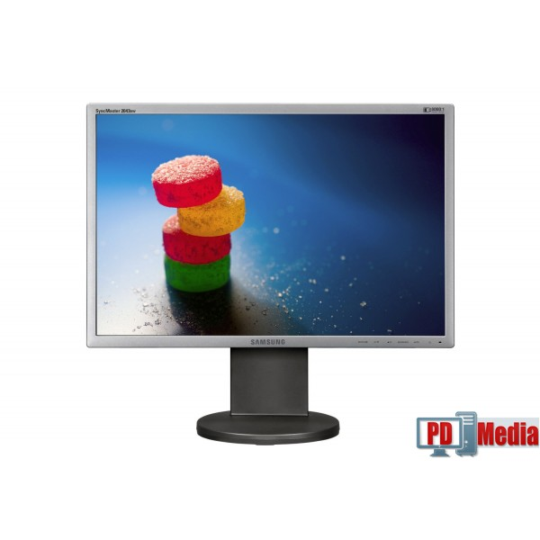 Monitor LCD Samsung SyncMaster 2043BW 20 inch 5 ms wide Gri Grad B