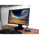 Monitor LCD Samsung 24 inch 5 ms wide black 1920x1200 Grad A