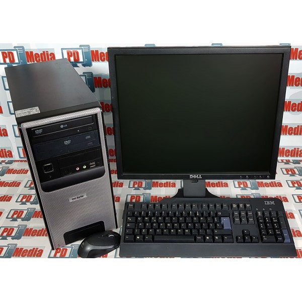 "Kit Calculator Dual Core E2200 2.20GHz 4GB DDR2 HDD 80GB + Monitor LCD 19"" cu Tastatura si Mouse"