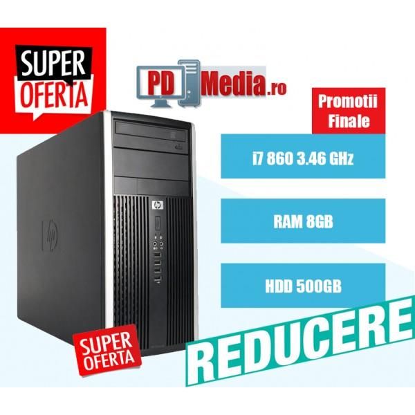 Calculator second hand i7 860 8GB DDR3 HDD 500GB DVD HP 8100 MTower
