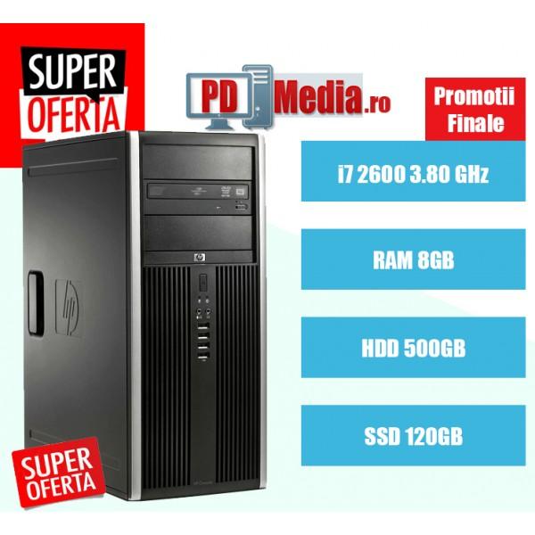Calculator second hand i7 2600 8GB DDR3 HDD 500GB DVD HP 8200 MTower