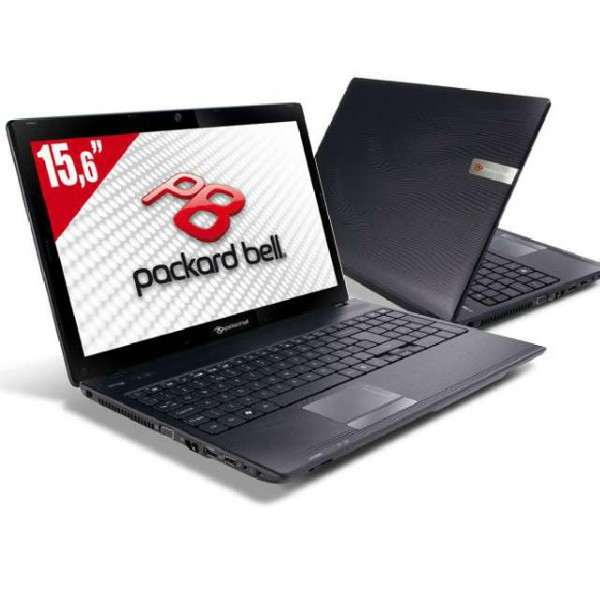 Laptop Packard Bell PEW91 15.6 Inch Dual Core P6100 2.0GHz RAM 4GB HDD 160 GB HDMI DVD RW Web Cam
