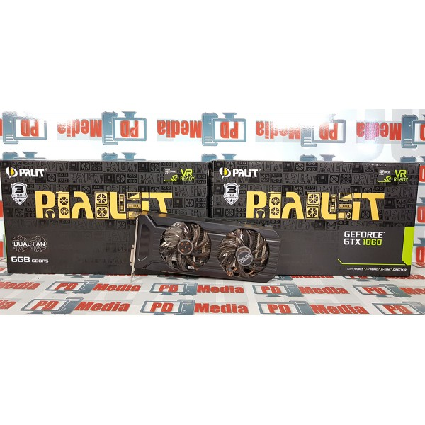 Placa video Palit GeForce GTX 1060 6GB GDDR5 192-bit Garantie