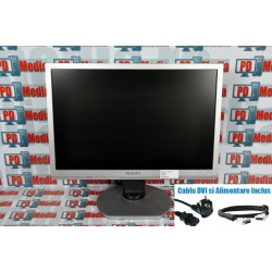 "Monitor LCD Philips 24"" 240B1 Brilliance Ergo base, USB, Audio Format 16:10 5ms 1920x1200 Grad A"