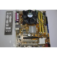 Placa de Baza ASUS G31 Socket 775 + Procesor CORE2DUO E5300 2.6 Ghz + COOLER