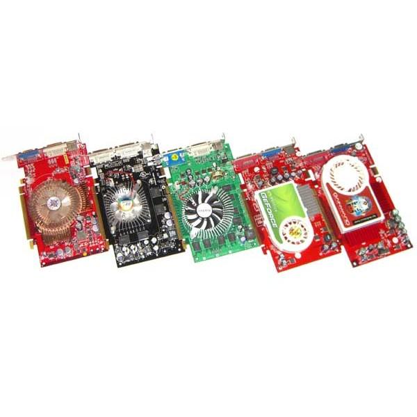 Placi video PCI-EXPRESS NVIDIA / ATI RADEON 128MB Diverse Modele
