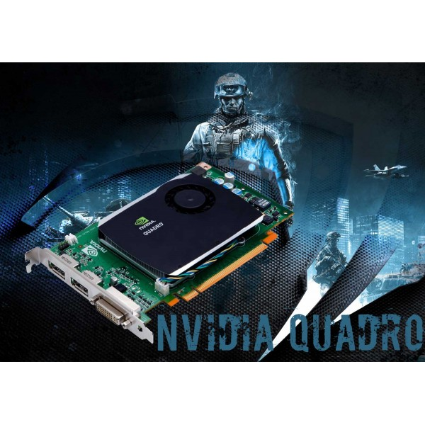 Placa Video PNY Quadro 580 512MB GDDR3 128 Bit
