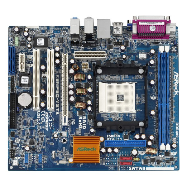 Placa de Baza ASRock Socket 754 Audio 7.1 Video Integrat nVidia