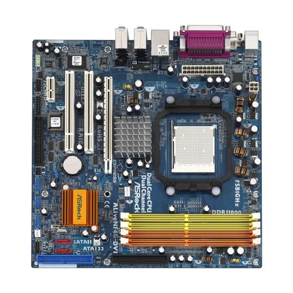 Placa De Baza Asrock Socket Am2 Asrock ALIVE NF4G-DVI - X2 4XDDR2 IDE / S-ATA
