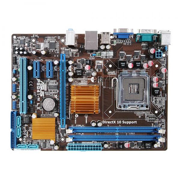 KIT Placa de baza ASUS P5G41-M LX + Procesor Intel Dual Core E5300 2.60 Ghz 2MB Cache 800 Mhz FSB Max. 8 GB RAM DDR 2 Video si Audio Integrat