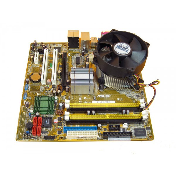KIT PLACA DE BAZA ASUS P5LD2 + CORE2DUO E6550 2.33 GHZ 4 Mb Cache + 2 GB DDR2 RAM