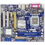 Kit Placa de Baza FoxConn G31M-GS + Procesor Intel E7400 2.8GHz Tablita Spate Video Onboard 2xDDR2 Slot PCI-EX 16 4xSata IDE Retea 1GB Garantie 6 Luni