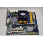Placa de Baza Foxconn Socket AM2 RS780 PCI, RAM 4 x DDR2 + Procesor AMD Athlon 64 X2 2800 MHz