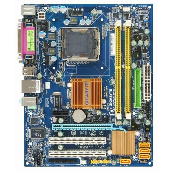 Placa de baza Gigabyte GA-G31M-ES2L Suporta Procesor Intel Core 2 Quad Max. 4 GB RAM DDR 2 Video si Audio Integrat