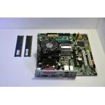Kit Placa de Baza Lenovo 946GZ + Procesor Core2Duo E4300 + Cooler + Memorie RAM 2GB DDR2 667MHZ Are Audio & Video Integrat