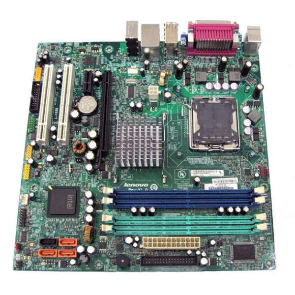 Placa de Baza Second Hand Lenovo L-IQ35 Suporta Intel Core 2 Quad  8 GB DDR2 Audio Video Integrat